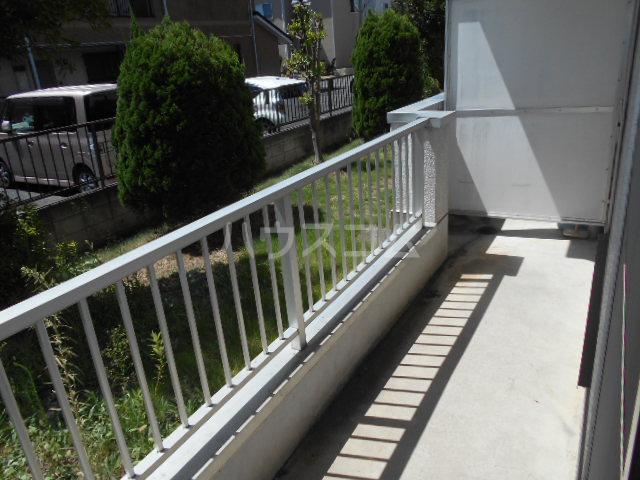 原第5マンション 105号室のバルコニー