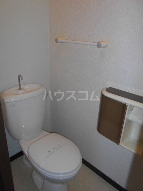 原第7マンション 101号室のトイレ