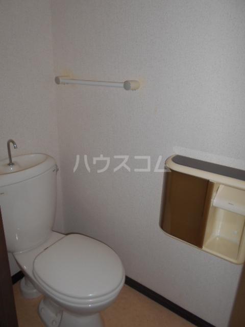 原第7マンション 107号室のトイレ