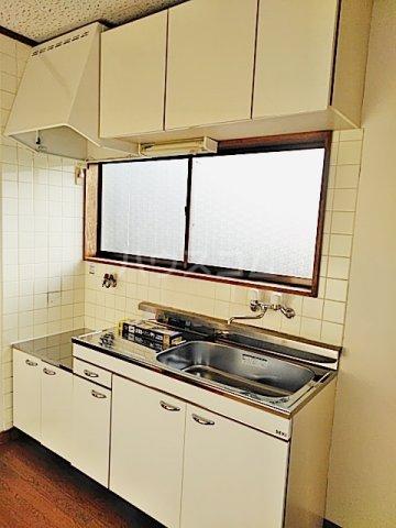 矢部ハイツ A棟 202号室のキッチン