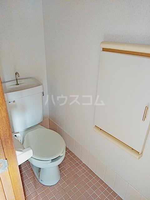 矢部ハイツ A棟 202号室のトイレ