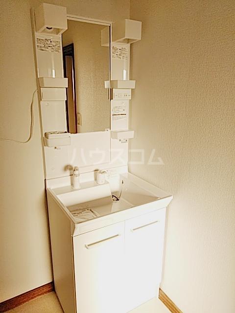 矢部ハイツ A棟 202号室の洗面所
