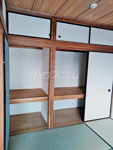 矢部ハイツ A棟 202号室の収納