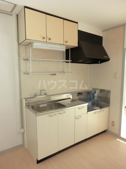 小川コーポ 202号室のキッチン