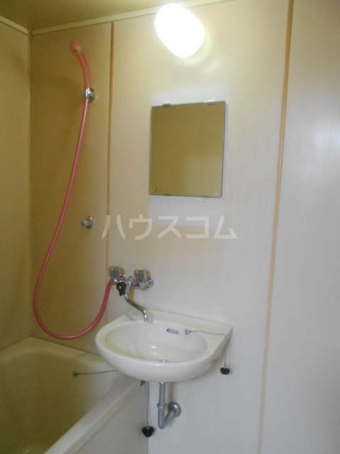 林ハイツ 202号室の洗面所