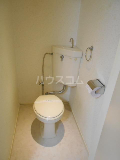 林ハイツ 202号室のトイレ