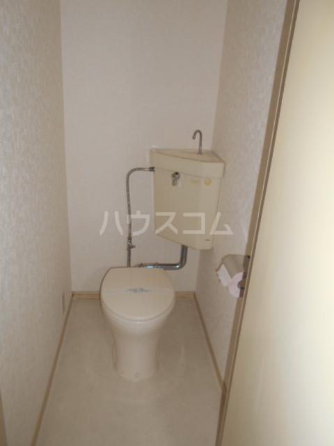 林ハイツ 205号室のトイレ