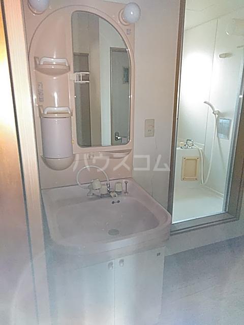 サンハイム A 201号室の洗面所