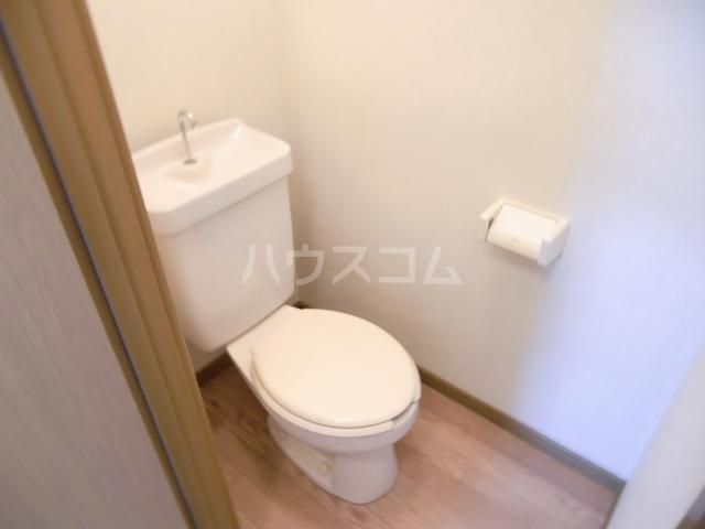 サンハイム A 201号室のトイレ
