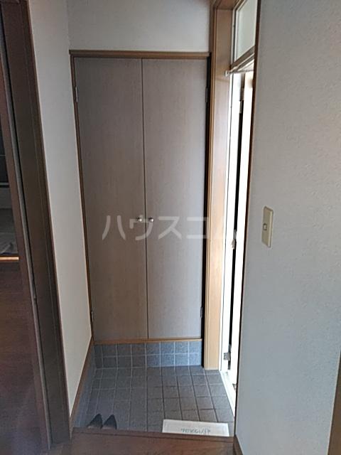 サンハイム A 201号室の玄関