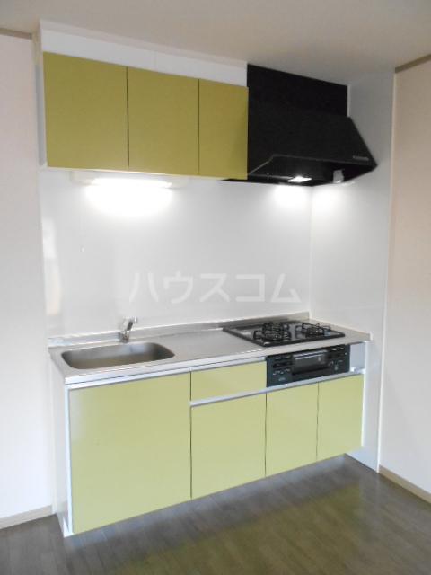 アピエ弐番館 203号室のキッチン