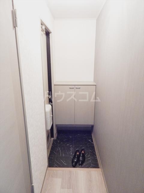 スリーゼハイツ 202号室の玄関