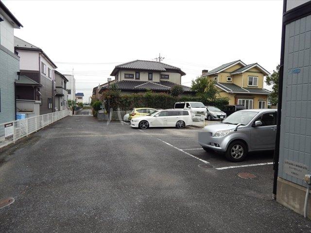 スリーゼハイツ 202号室の駐車場