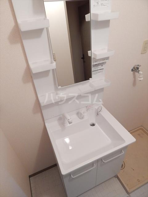 スリーゼハイツ 202号室の洗面所