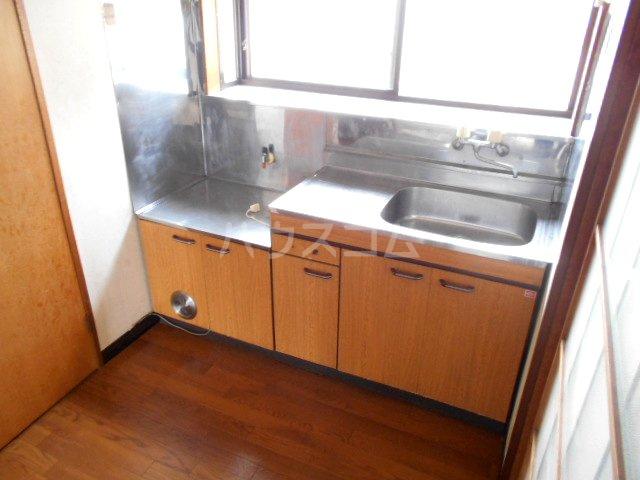 第2コーポオカモトA 202号室のキッチン