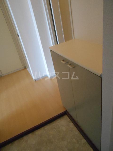 メゾンセピアC 202号室の玄関