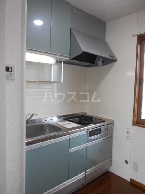 メゾンHOKUSHIN Ⅱ 203号室のキッチン