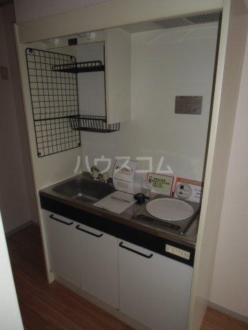 ピュアコート 壱番館 1-103号室のキッチン