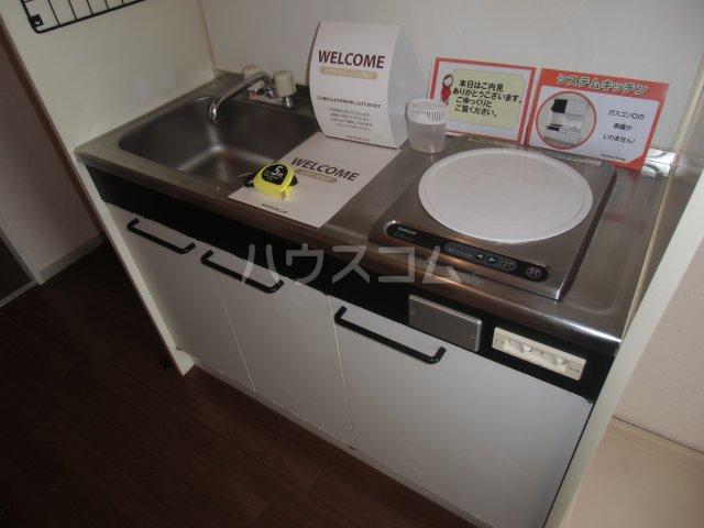 ピュアコート 壱番館 1-206号室のキッチン