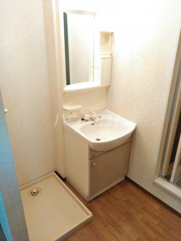 メゾンHOKUSHIN 105号室の洗面所