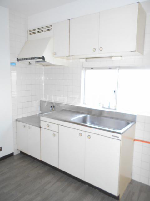 うぇる 401号室のキッチン