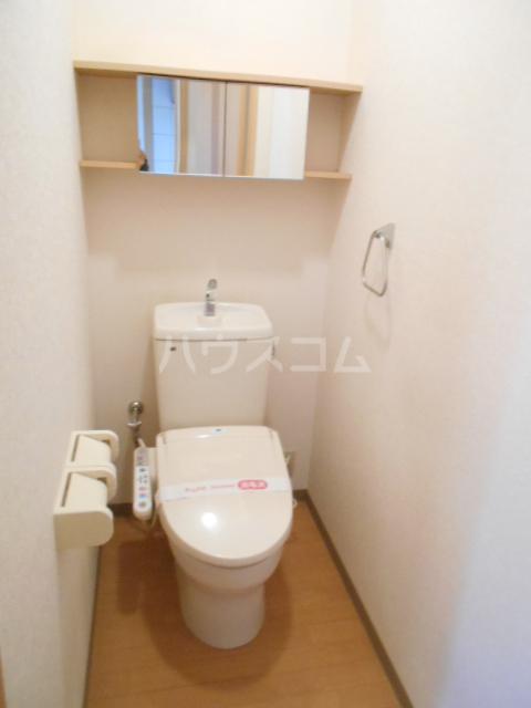 タペストリー 103号室のトイレ