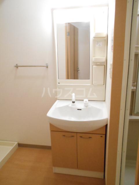 タペストリー 103号室の洗面所