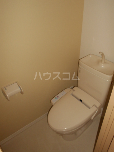 メゾンドゥリュイソー 202号室のトイレ