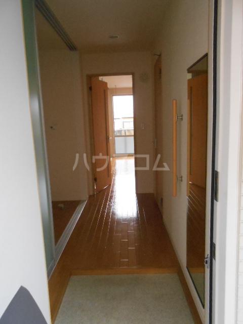 メゾンドゥリュイソー 202号室の玄関