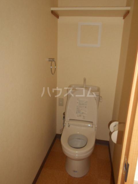 ファインパーク春日部 402号室のトイレ