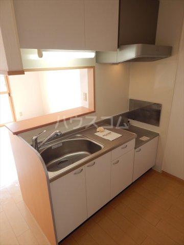 ソレアードⅢ 203号室のキッチン