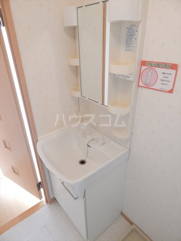 ソレアードⅢ 203号室の洗面所