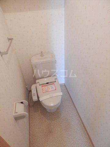 ソレアードⅢ 203号室のトイレ