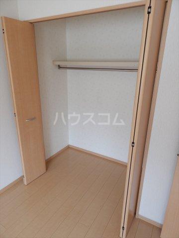 ソレアードⅢ 203号室の収納