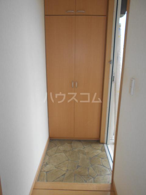 ソレアードⅢ 203号室の玄関