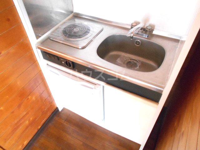 グリーンハイツ稲 101号室のキッチン