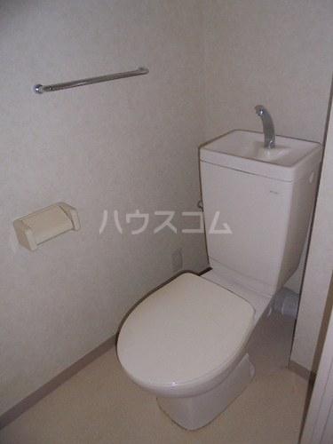 セントラルコート春日部 208号室のトイレ