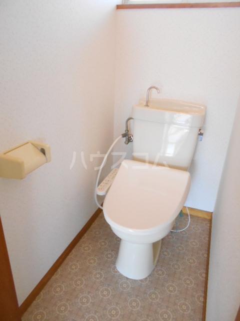 ハウスミニオン 201号室のトイレ
