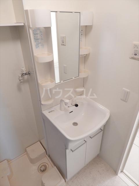 グリシーヌC 201号室の洗面所