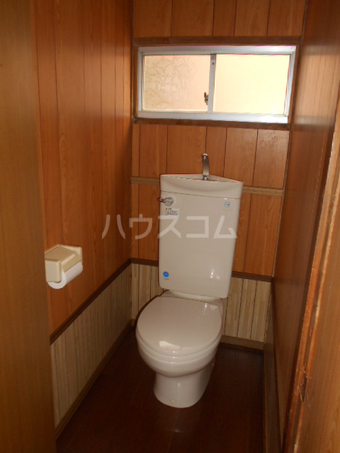 日向貸家のトイレ