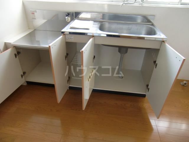清水アパートA 101号室のキッチン