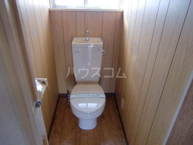 清水アパートA 101号室のトイレ