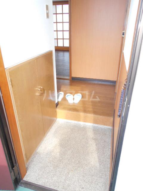 オオツキアパート 305号室の玄関