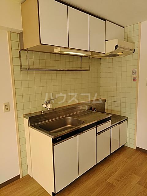 グランデージ武里 210号室のキッチン