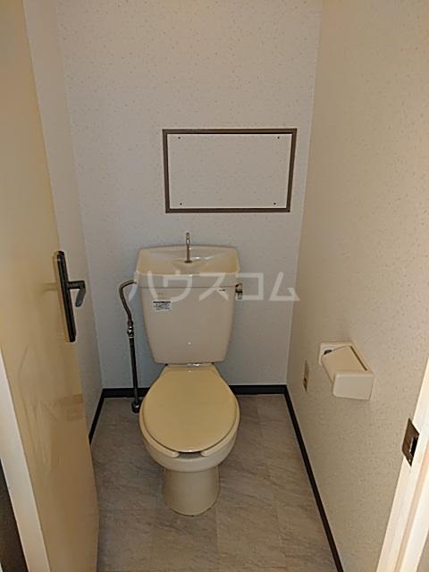グランデージ武里 210号室のトイレ