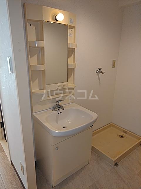 グランデージ武里 210号室の洗面所