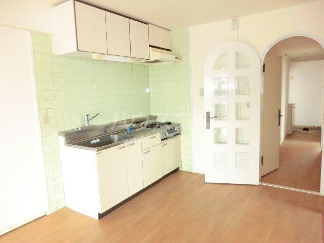 グランデージ武里 410号室のキッチン