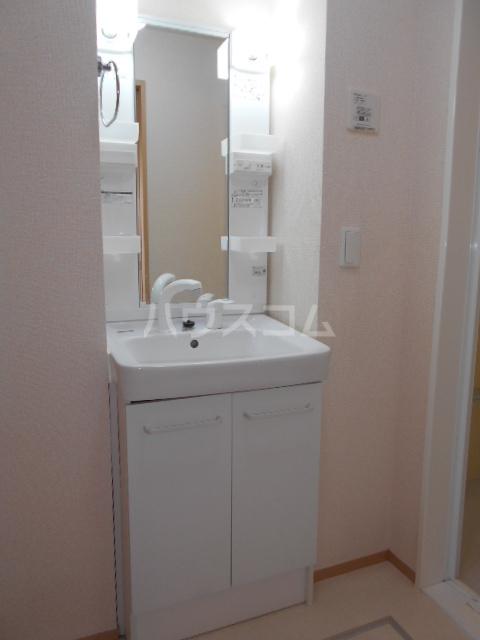 フルール 302号室の洗面所