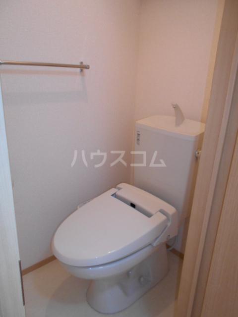 フルール 302号室のトイレ