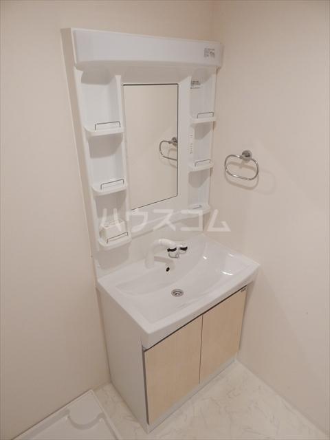 Airis 105号室の洗面所
